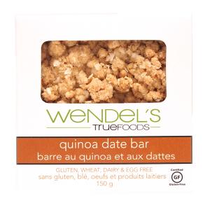 quinoa date bar