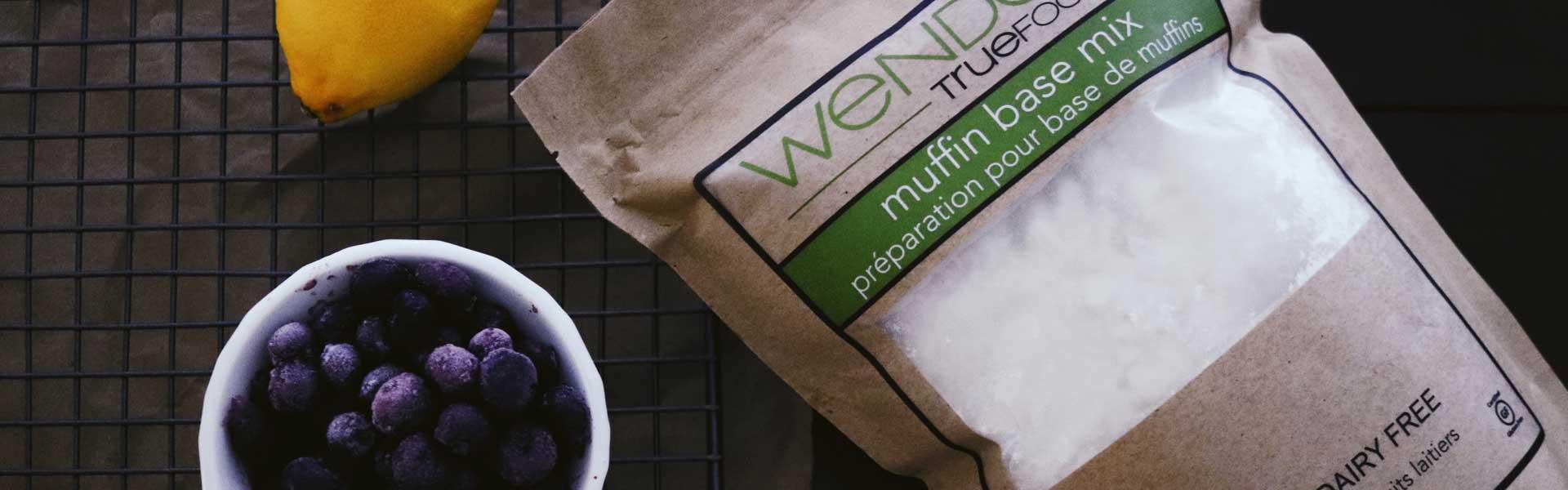 muffin base mix